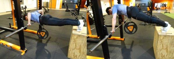 oefening variatie push-up