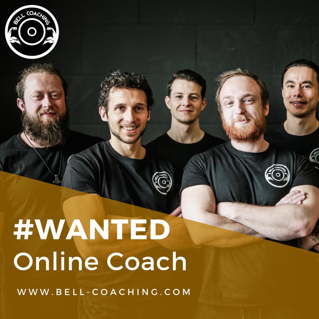 Vacature online coach